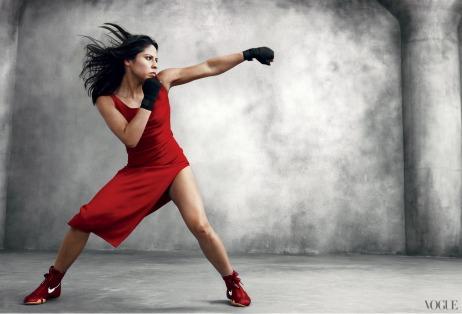 Marlen Esparza, Olympic Bronze medalist & Boxing queen
